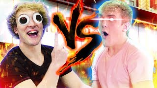 Jake Paul vs Logan Paul (ASOT)
