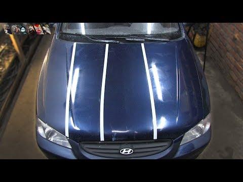 Как полировать авто после покраски видео