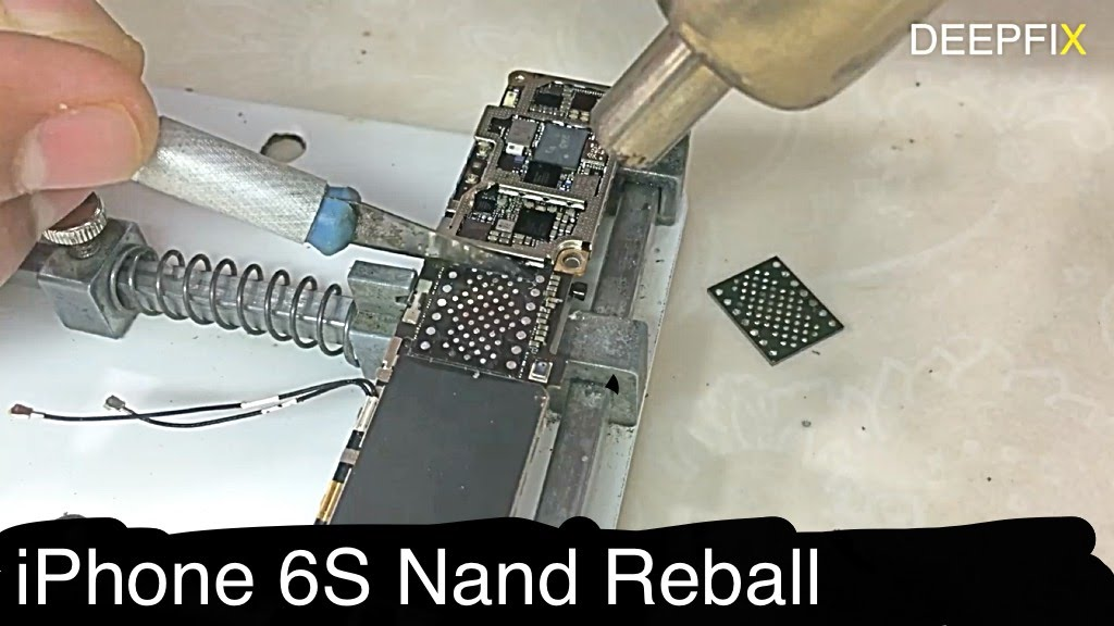 Bricked Iphone 6s Fixed By Nand 4k Youtube