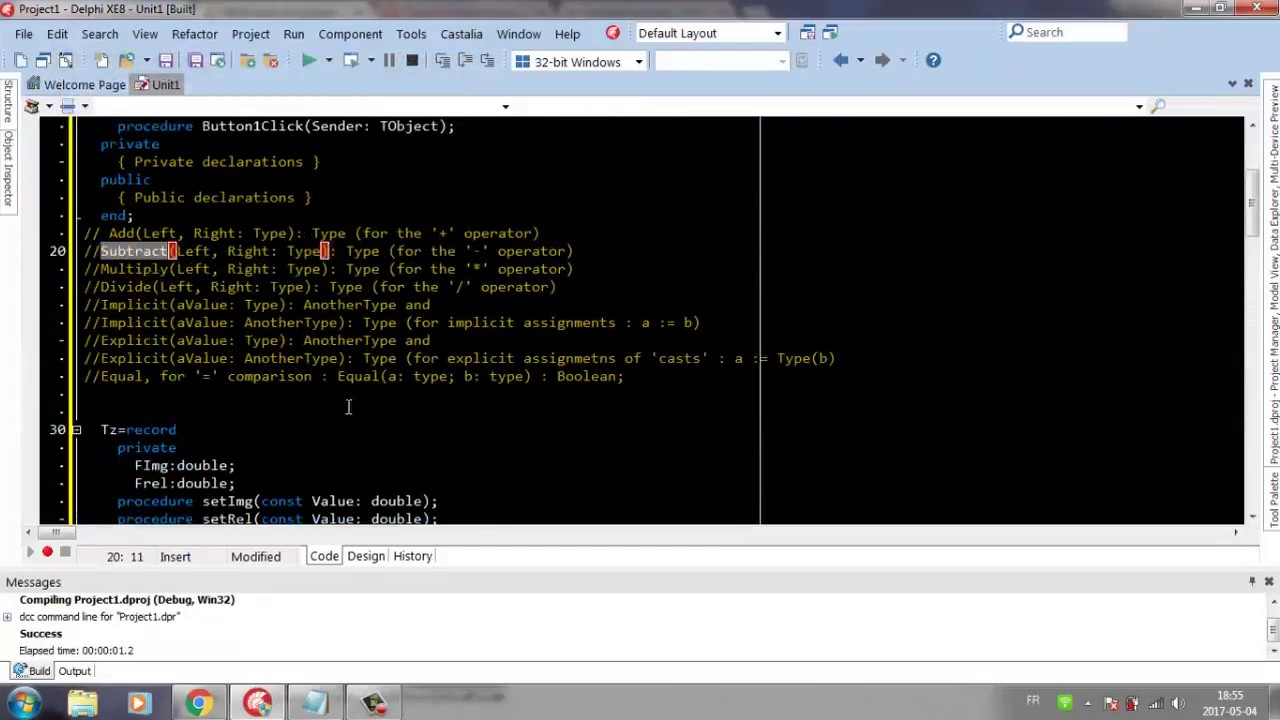Complex number and class operator in delphi youtube complex number and class operator in delphi baditri Gallery
