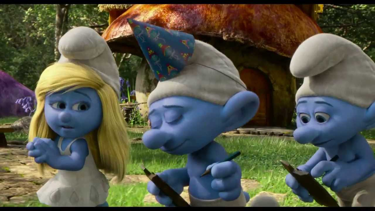The Smurfs 2 Fabulous Clip With Vanity Youtube