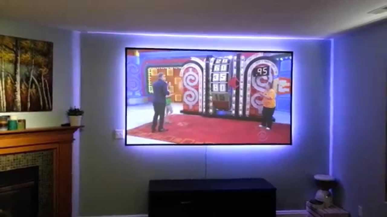 LG PF85U projector-TV tuner - YouTube