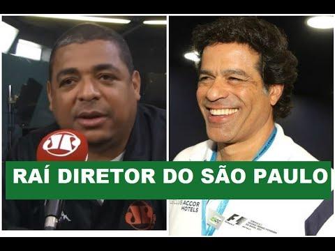 O que VAMPETA acha de RAÍ como diretor do SÃO PAULO?