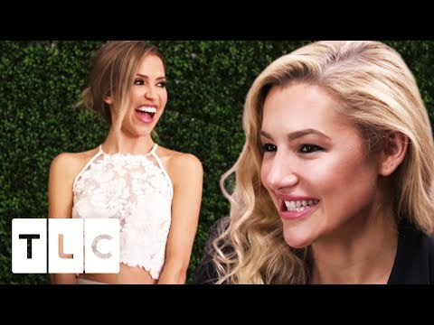 Hayley Paige Makes Kaitlyn Bristowe's Perfect Wedding Gown!   Hayley Ever After