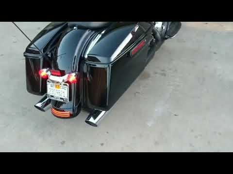 2017 street glide tab exhaust with