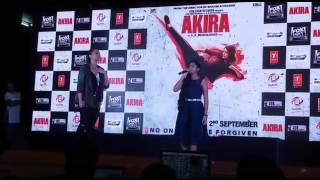 nahid afrin singer from indian idol live performance akira   akira movie 2016   sonakshi sinha hot