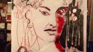berni van gils drawing-show in paris 2013