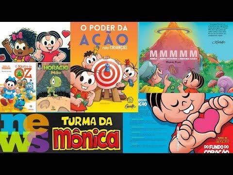 News Turma da Mônica, Bienal, Crossover com a DC e Milena