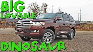 The Toyota Land Cruiser is a big, lovable dinosaur