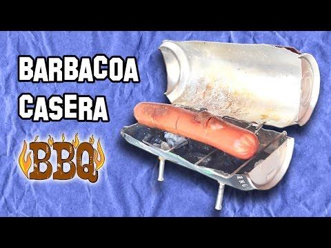 Cómo Hacer una Mini Barbacoa Con Una Lata de Refresco - Experimentos Caseros