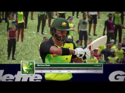 [Part 1] Australia vs England / Ashes Cricket 2017 / AI vs AI / T20 (16 Overs D/L)