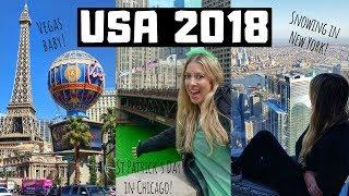 USA Travel Highlights: LA, Vegas, Grand Canyon, Chicago, NYC, Orlando
