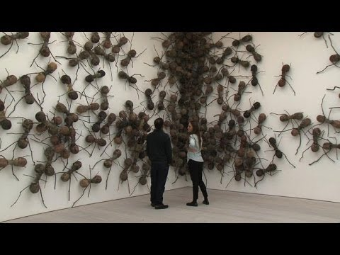 Londres: exposition d'art contemporain africain et sud-americain