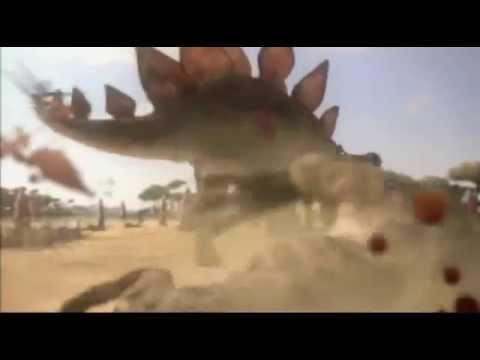 allosaurus vs stegosaurus epic battle - YouTube