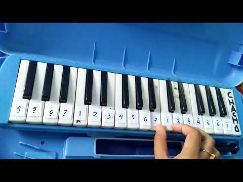 Not angka pianika Indonesia Tetap Merdeka