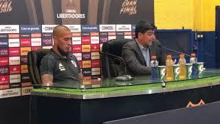 Conferencia de prensa de Matías Biscay y Jonathan Maidana tras el empate ante Boca Juniors