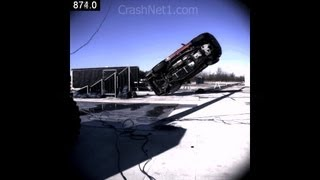 Ford Expedition | 2007 | Ramp Rollover Crash Test | NHTSA | CrashNet1