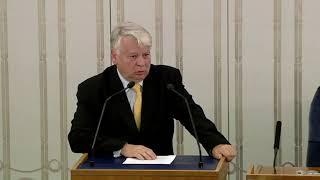 Bogdan Borusewicz - wystąpienie z 13 lipca 2018 r.