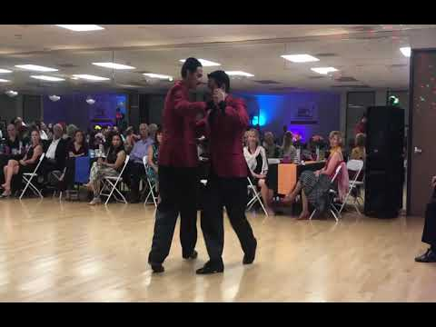 Rey Flores & Carlos Blanco Valz Performance At Milonga Magnifica OC
