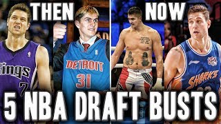 Where 5 Of The Biggest NBA Draft Busts Are Now