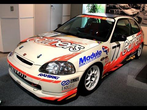 1998 HONDA CIVIC Type-R Racing ギャザスCIVIC - YouTube  1998 HONDA CIVI...