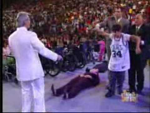 Benny Hinn Prays For His Son in New York
