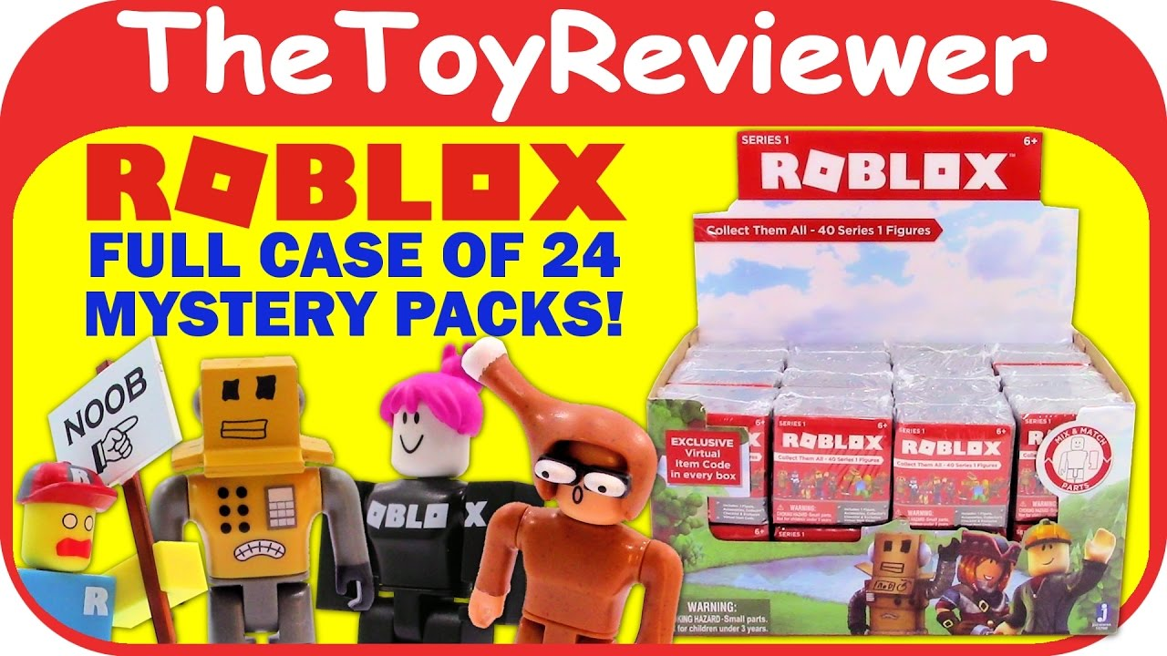 Roblox Series 1 New 24 Mystery Packs Blind Bags Boxes