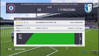 Erzgebirge Aue - 1. FC Magdeburg Gameplay