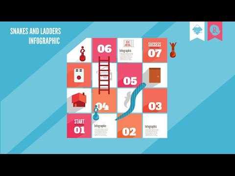 Inkscape: Infographic Snake And Ladders
