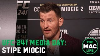 Stipe Miocic ignores Cormier 'High School' chat; ranks Anthony Joshua, Deontay Wilder & Tyson Fury