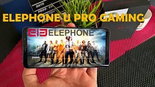 Elephone U PRO GAMING Review | PUBG Mobile, Shadow Fight 3, World War Heroes, Lineage 2