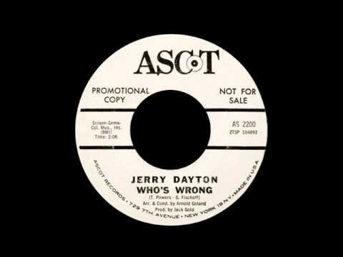 Jerry Dayton - Who's Wrong