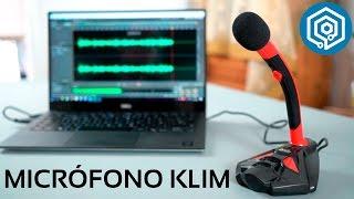 Micrófono KLIM | El mejor micrófono si empiezas en Youtube o Twitch