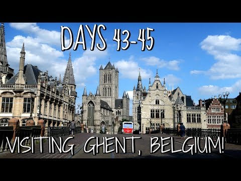 VISITING GHENT, THE HIDDEN GEM OF BELGIUM | EUROPE TRAVEL VLOG | DAYS 43-45