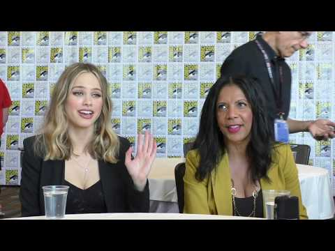 SDCC 2017:  The Orville  Halston Sage, Penny Johnson Jerald