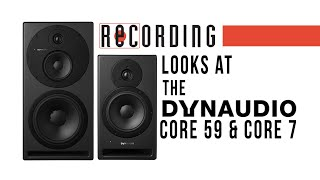 RECORDING Magazine looks at the Dynaudio Core Series Monitors - Unboxing!