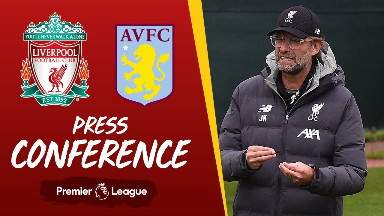 Jürgen Klopp's pre-match press conference | Aston Villa