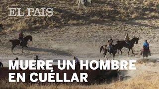 Un toro rezagado mata a un hombre en los encierros de Cuéllar