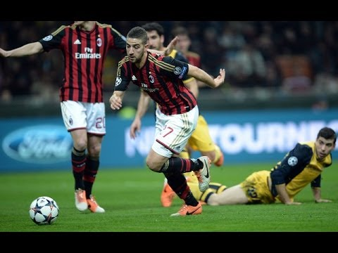 Adel Taarabt - Skills & Goals with AC Milan - YouTube