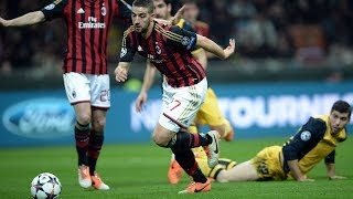 Repeat youtube video Adel Taarabt - Skills & Goals with AC Milan