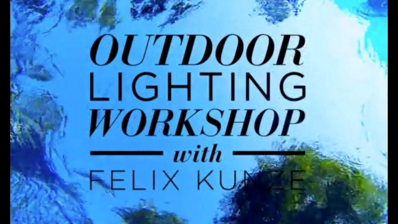 Felix Kunze S Location Lighting Workshop Youtube