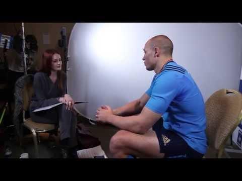 Alexandra Evans meets Sergio Parisse