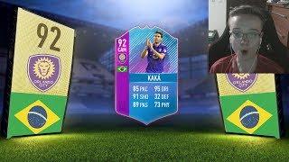 OMG 92 KAKÁ!!! 😱 FIFA 18 ULTIMATE TEAM