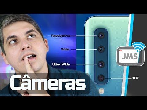 Câmera TOF Grande Angular, Tele Objetiva, e Wide Ultra - CanalJMS
