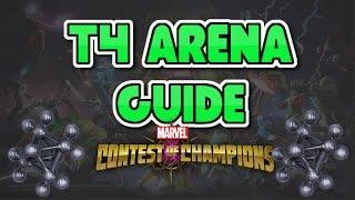 t4 arena guide walkthrough