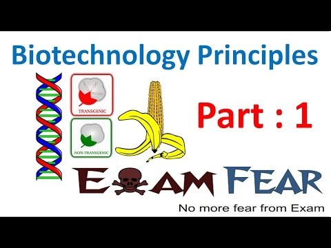 Biology Biotechnology Principles part 1 (Introduction, Basis of Biotech) class 12 XII thumbnail