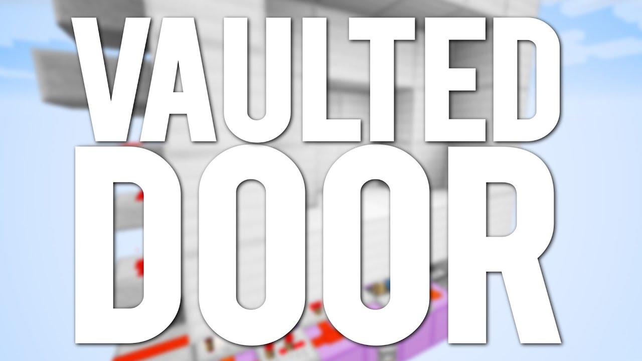 Minecraft: 4x3 Vaulted Piston Door [New Type Of Door!]