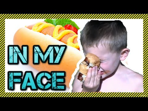 🌭😆Hot Dog in my FACE! - Song and Music Video🌭 | Funny Original Music Video - Hot Dog Song (HDIMF)