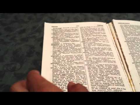 English ~ Tagalog Dictionary