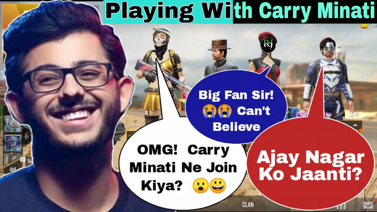 Carry Minati Playing with Haya | Real Carry Minati?  | Haya Fun Gaming | HFG